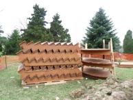Western Red Cedar stairs